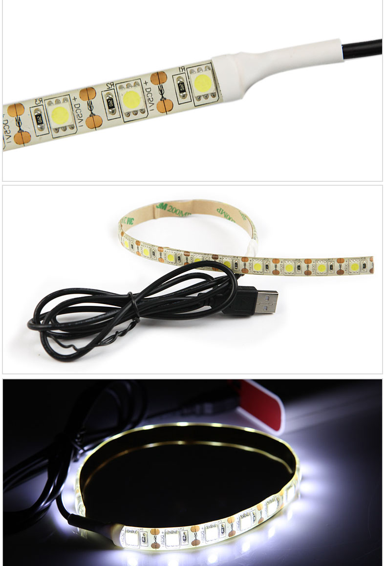 5V, USB, 5050 SMD led flexible light strip,waterproof