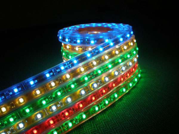 3528 SMD led flexible light strip waterproof,5m,600 led